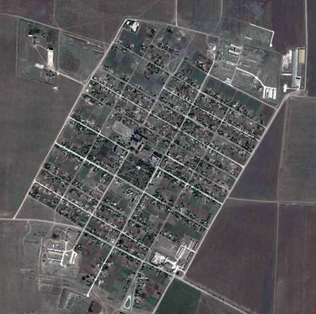 Вид на Павловку в GoogleEarth