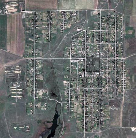 Вид на Першоконстантиновку в GoogleEarth